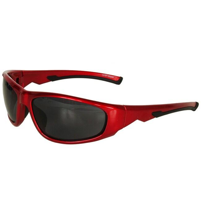 Tour de France Unisex 'Jasper' Red Sport Sunglasses