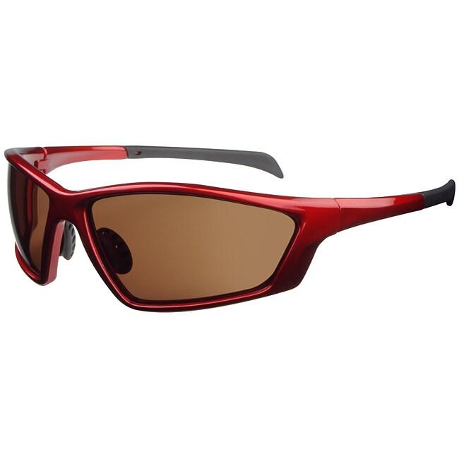 Tour de France Unisex 'Jolt' Red Sport Sunglasses