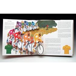 Tour De France Pop-up Book - Thumbnail 1