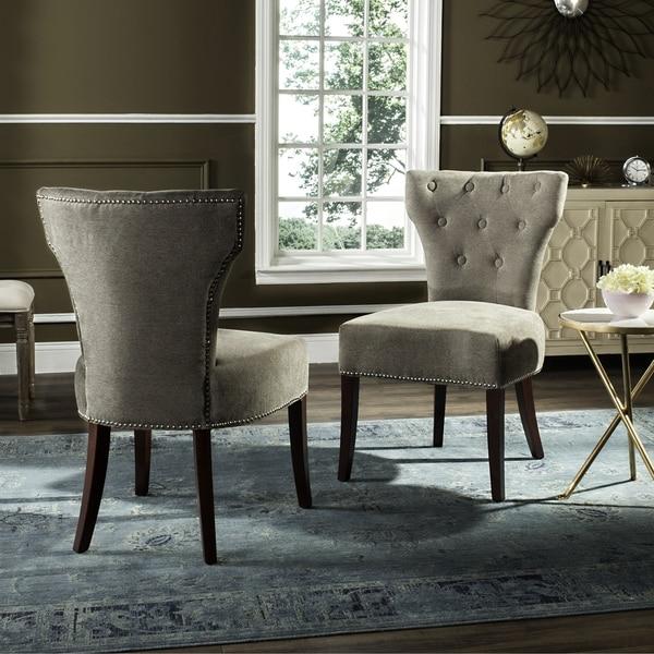 Safavieh En Vogue Dining Gramercy Sage Dining Chairs (Set of 2)