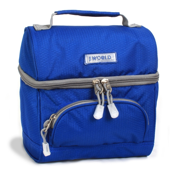 J World 'Corey' Blue Lunch Bag