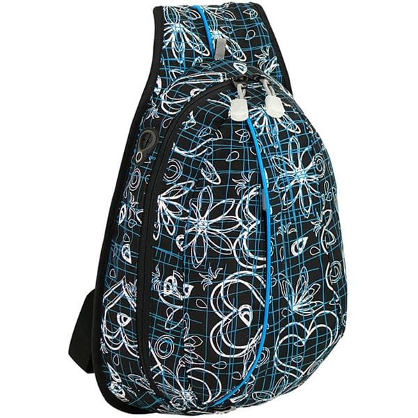 J World 'Stacy' Black Love Letter Mini Sling Bag