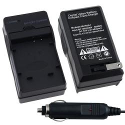 INSTEN Compact Battery Charger Set for Olympus Li-50B