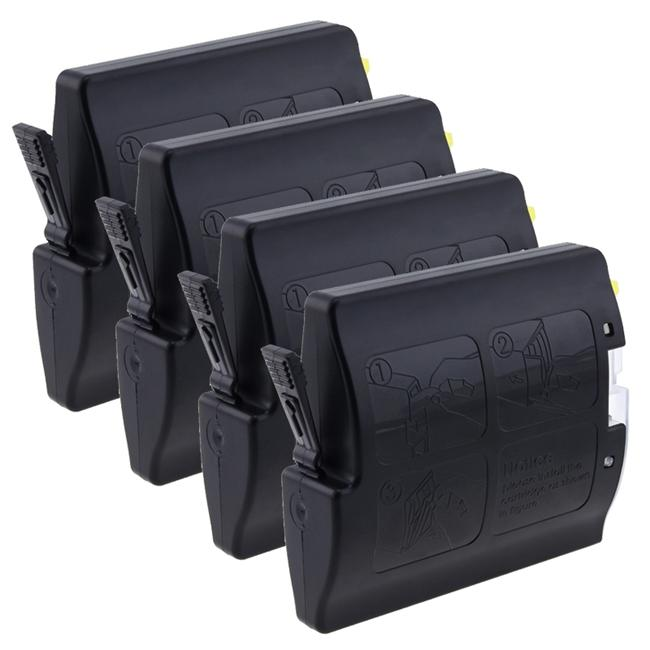 INSTEN Brother Compatible LC51 Black Ink Cartridges (Pack of 4)