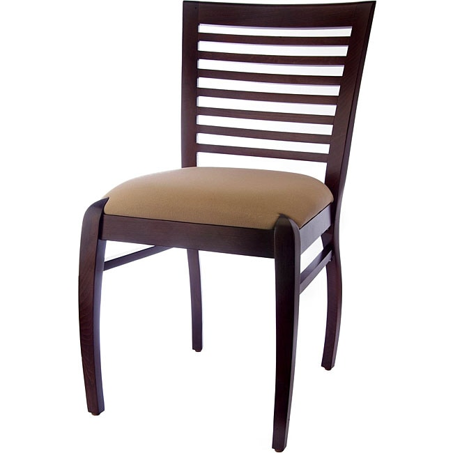 sienna walnut horizontal side chairs set of 2 free shipping today