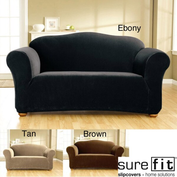 Sure Fit Stretch Corduroy Sofa Slipcover
