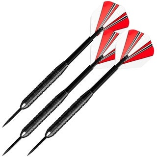 23 Gram Steel Tipped Darts - Tournament Competition Accessory Set by Trademark Games