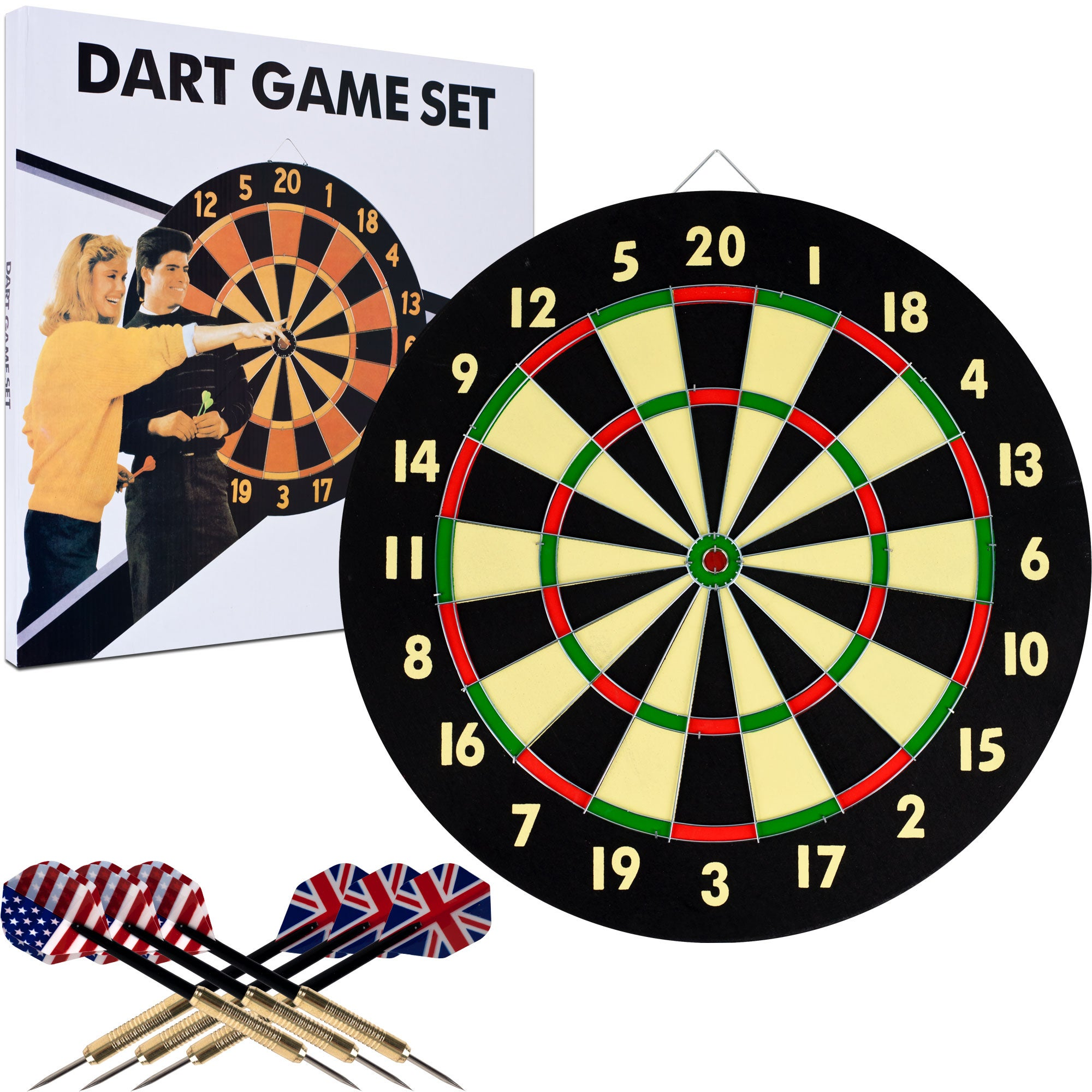 Shop Trademark Games Dart Board Game Set Free Shipping