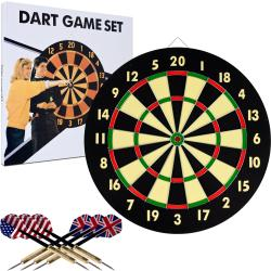 Trademark Games Dart Board Game Set - Thumbnail 0