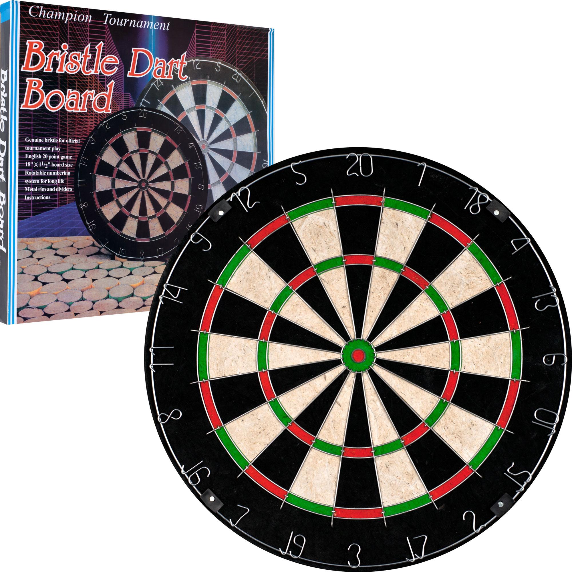 Trademark Games Champion Tournament Bristle Dartboard