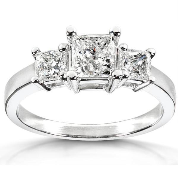 Annello by Kobelli 14k White Gold 1 3/8ct TDW Diamond Engagement Ring (G-H, I2-I3)