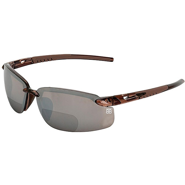 Crystal Brown BTB- 800R Reader Sport Sunglasses