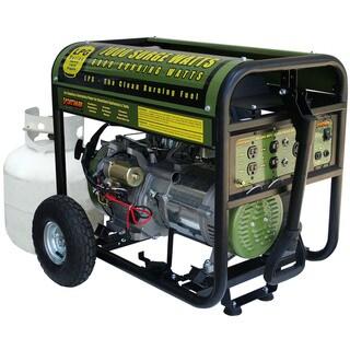 7000-watt Propane Generator