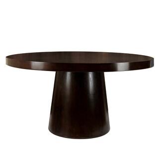 Furniture of America Amari Espresso Round Dining Table