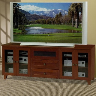 Shaker Dark Cherry Finish TV and Entertainment Console