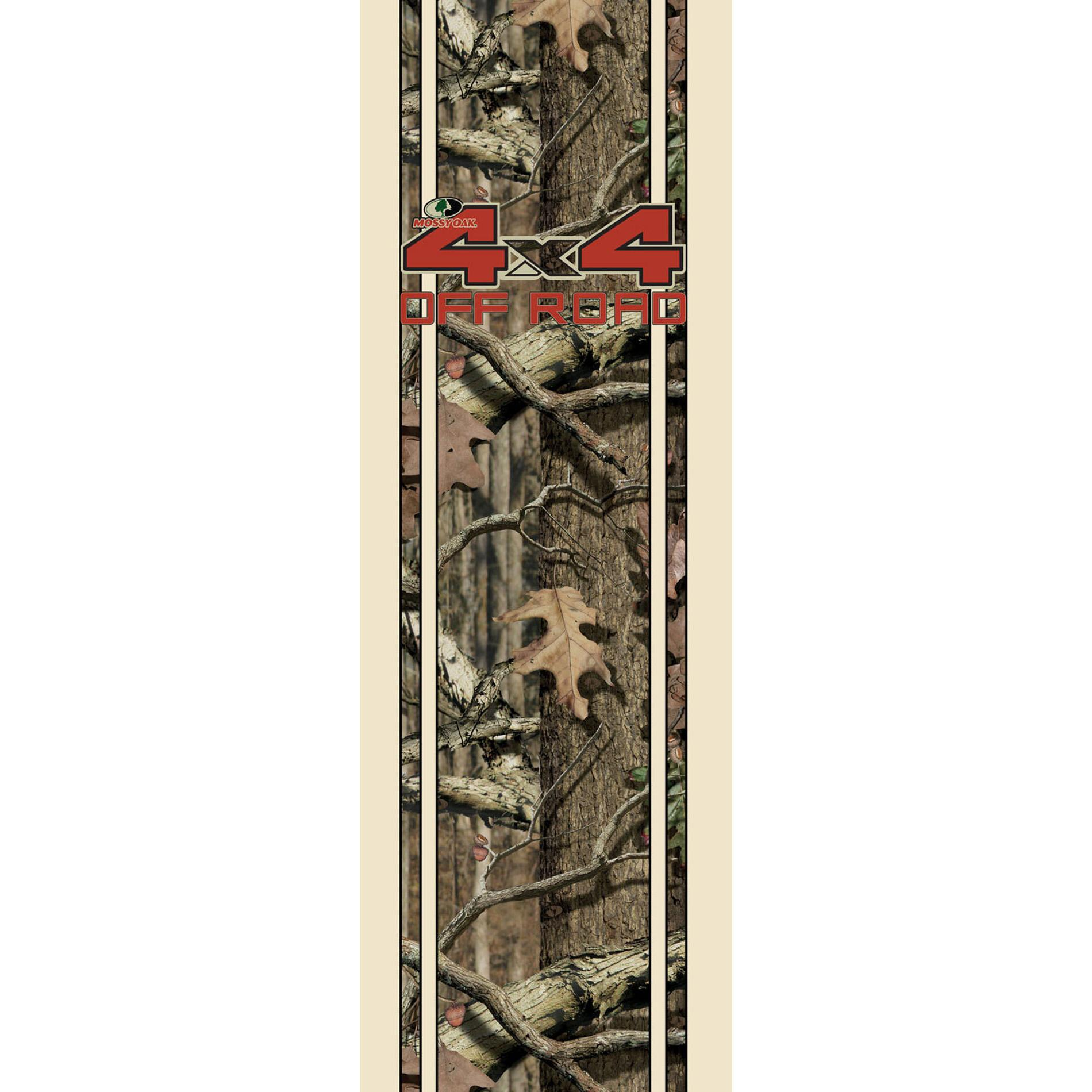 Mossy Oak Infinity Camo Red Off Road Rear Quarter Panel Kit - Thumbnail 2