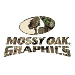 Mossy Oak Infinity Camo Large Logo Decal - Thumbnail 0