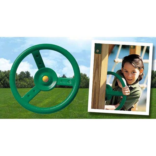KidWise Green Play Steering Wheel
