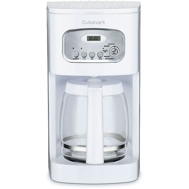 Cuisinart DCC-1100 White 12-cup Programmable Coffeemaker (Refurbished) - Thumbnail 0