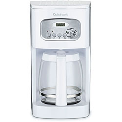 Cuisinart DCC-1100 White 12-cup Programmable Coffeemaker (Refurbished)