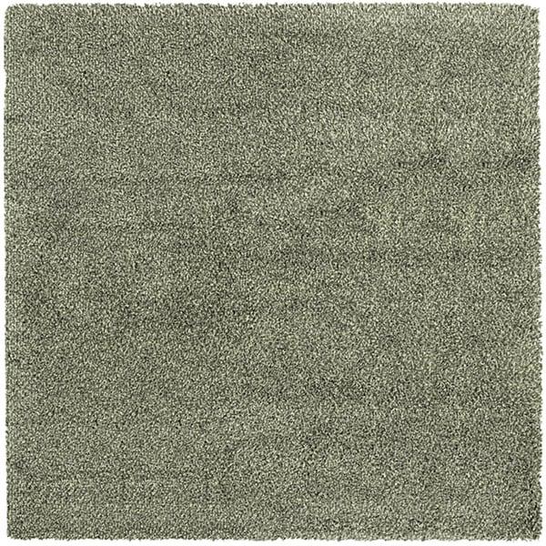 Manhattan Tweed Blue/ Ivory Shag Rug (8' x 8')