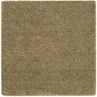 Manhattan Tweed Brown/ Ivory Shag Rug - 8'