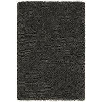 "Manhattan Tweed Blue/Brown Shag Rug (7'10"" x 11'2"")"