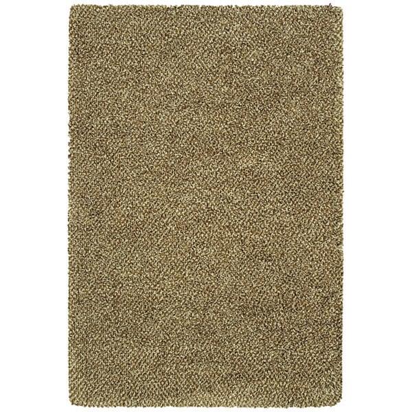 Manhattan Tweed Brown/ Ivory Shag Rug - 7'10 x 11'2