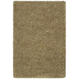 Manhattan Tweed Brown/ Ivory Shag Rug (7'10 x 11'2)