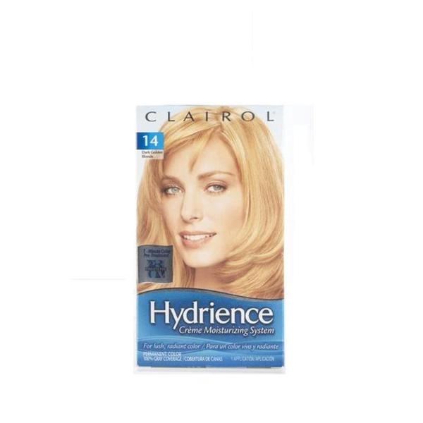 Clairol Hydrience #14 Bamboo, Dark Golden Blonde Hair Color (Pack of 4)