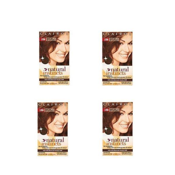 Clairol Natural Instincts #13B Spiced Cider Hair Color (Pack of 4)
