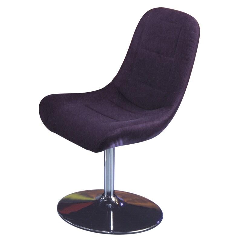 Melrose Airbrush Black Dining Chair