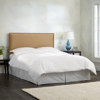Made To Order Wrightwood California King-size Khaki Micro-suede Nail Button Headboard