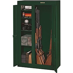 Stack-On 10-Gun Double Door Steel Security Cabinet