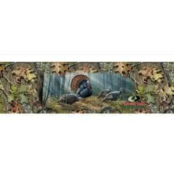 Woodland Splendor Turkey Rear Window Graphic - Thumbnail 0