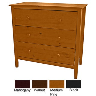 Scandinavia Solid Pine 3-drawer Dresser