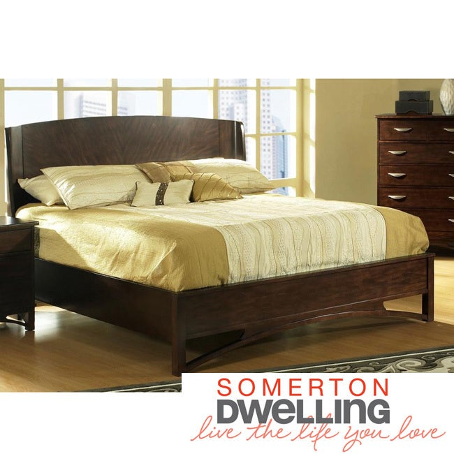 Somerton Dwelling Cirque King Size Bed Set Overstock 5990112