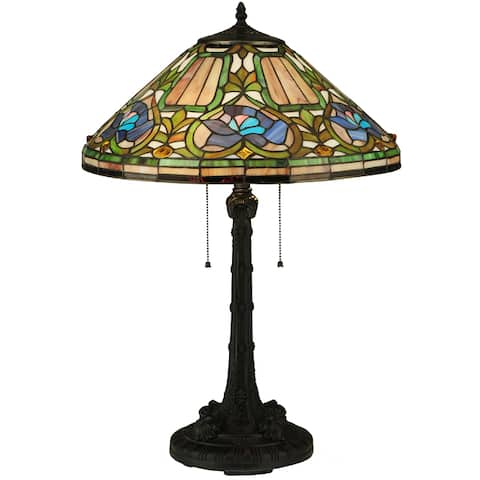 Tiffany Style Floral Table Lamp