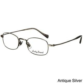 Lucky Brand 'Miles' Men's Optical Eyeglasses (Option: Silver - Silver)
