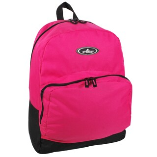 Everest 17-inch Front Organizer Classic Backpack (Option: Hot Pink)