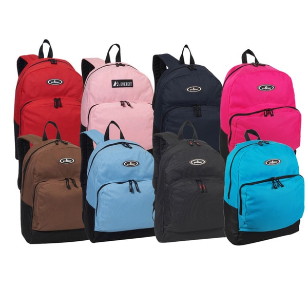 Everest 17-inch Front Organizer Classic Backpack