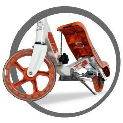 Rockboard Orange Scooter - Thumbnail 2
