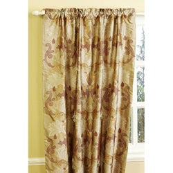 Abelina Dupioni 84-inch Silk Curtain Panel