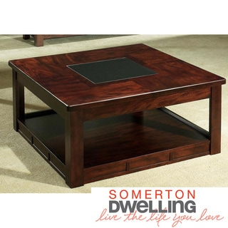 Somerton Dwelling Serenity Square Cocktail Table