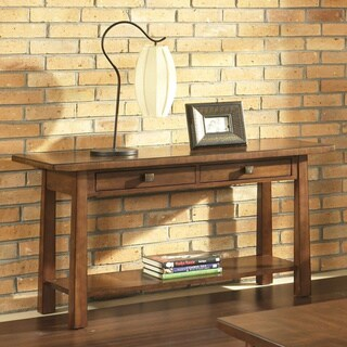 Dakota Rich Brown Sofa Table