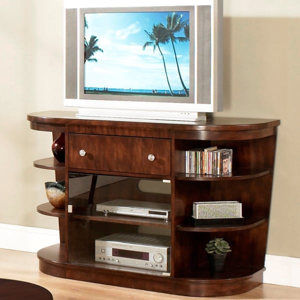 Montecito Warm Brown Entertainment Console