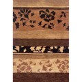 Hand-tufted Floral Wool Rug (5' x 8')