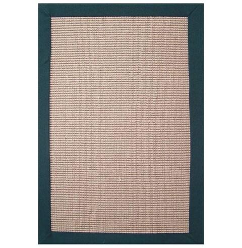 Hand-woven Sisal Emerald Rug (5' x 8') - 5' x 8'