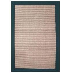 Hand-woven Sisal Emerald Rug (8' x 10') - Thumbnail 0