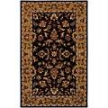 Hand-tufted Persian Black Wool Rug (8' x 11')